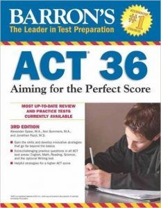 Top Pick for High Scorers ACT Prep Book