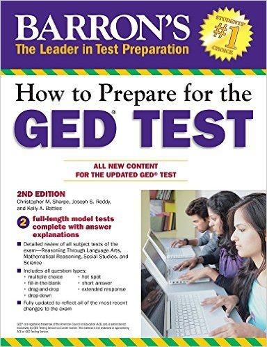 Best GED Prep Books 2018 - testprepselect.com