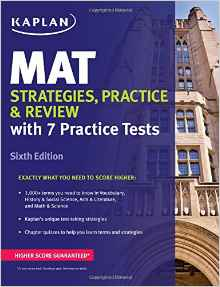 Kaplan MAT Strategies, Practice & Review