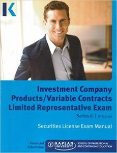 Kaplan Series 6 Securities License Exam Manual