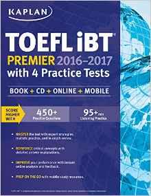 Kaplan TOEFL iBT Premier 2016-2017