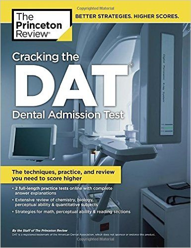 Princeton Review Cracking the DAT