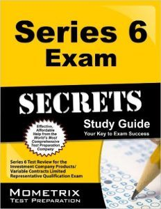Series 6 Exam Secrets Study Guide Series 6 Test Review
