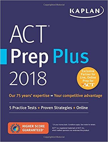 #3 Best Overall ACT Prep Book