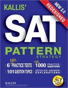 KALLIS' Redesigned SAT Pattern Strategy 2