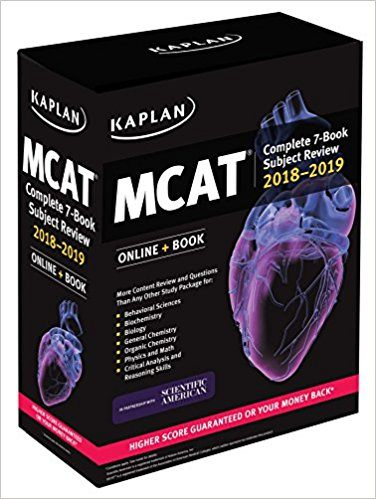 Best Overall and Best Value MCAT Prep Book