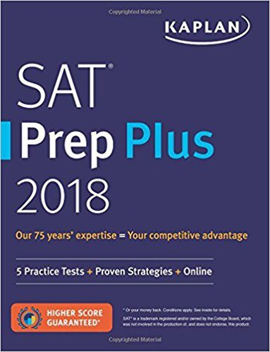 #2 Best Overall SAT Prep Book