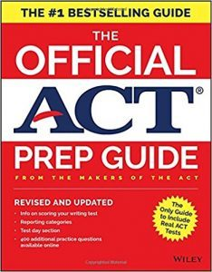 The Official ACT Prep Guide, 2018