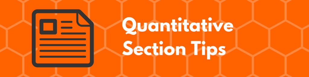 GMAT Quantitative Section Tips