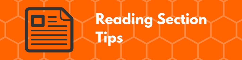 ACT Reading Section Tips