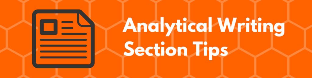 GRE Analytical Writing Section Tips