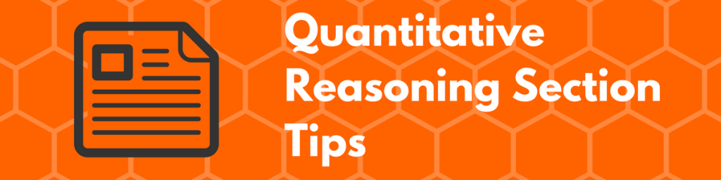 GRE Quantitative Reasoning Section Tips