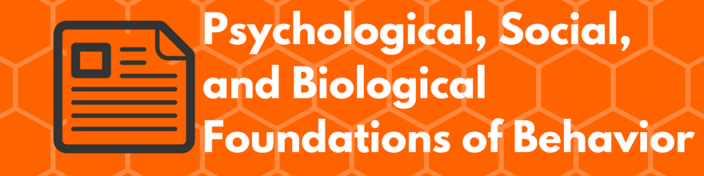 Psychological, Social, and Biological Foundations of Behavior Must-Know Topics