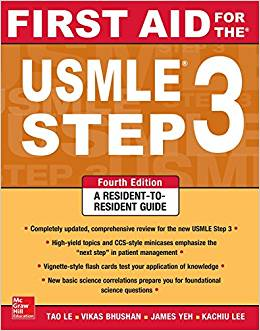 #2 Best Overall USMLE Step 3 Prep Book