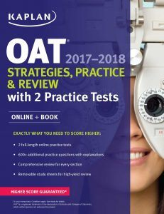 Kaplan OAT 2017-2018 Strategies, Practice & Review