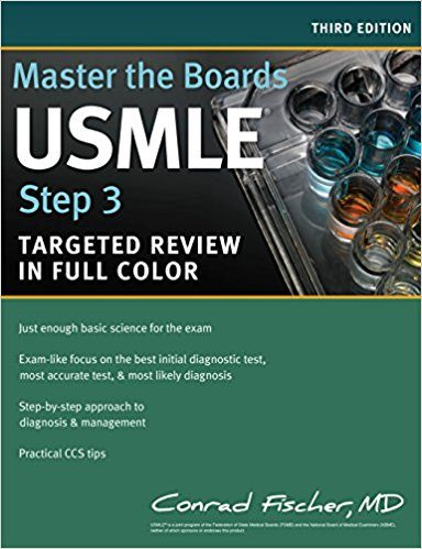 #3 Best Overall USMLE Step 3 Prep Book