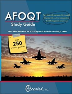 #4 Best Overall AFOQT Study Guide