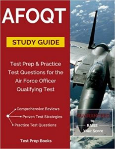 #2 Best Overall AFOQT Study Guide