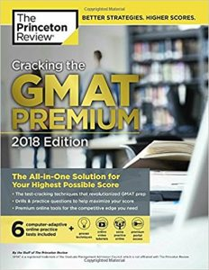 Princeton Review Cracking the GMAT Premium Edition 2018